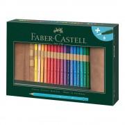 Creioane colorate acuarela 30 buc/set FABER-CASTELL Albrecht Durer Rollup, FC117530