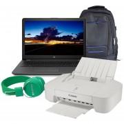 """Laptop Hp 255 G6 15.6"""" Amd A6 9225 2.5GHz Hdd 1tb Ram 4gb Dvd + Kit"""