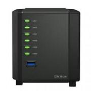 SYNOLOGY NAS 4 BAY HDD 2,5 SATA3 512MB DDR3 GIGALAN USB3.0