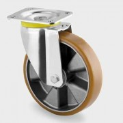 Roata pivotanta din aluminiu 160 mm - 800 kg TENTE 4680ITP160P63 Flat