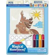Set pictura 4 scene Animale Melissa and Doug