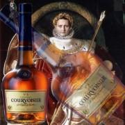 Cognac Courvoisier VS pachet cadou 0.7L