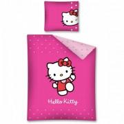 Lenjerie de pat Hello Kitty 160 x 200cm HK07