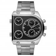 Seizmont Silberfarbene Provectus Armbanduhr