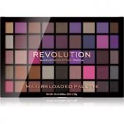 Makeup Revolution Maxi Reloaded Palette paleta de sombras em pó tom Baby Grand 45x1,35 g