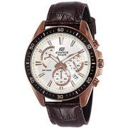 Casio Analog White Round Watch -EFR-552GL-7AVUDF (EX359)