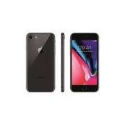 """iPhone 8 Apple com 64GB, Tela Retina HD de 4,7"""", iOS 11, Câmera de 12 MP, Resistente à Água, Wi-Fi, 4G LTE e NFC - Cinza-Espacial"""