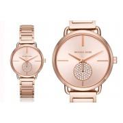 Michael Kors MK3640 Rose Gold-Tone Crystal Watch