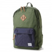ハーシェル HERSCHEL atomos Heritage Backpack Canvas (BLUE) レディース メンズ