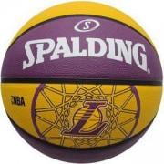 Баскетболна топка Los Angeles Lakers 2015, Spalding, 3001587010617