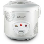 Cello Cook-N-Serve Electric Rice Cooker(1.8 L, White)