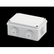 Doza aparenta - IP55 - dimensiuni interioare 120X80X50 - WALLS cu presetupe - GREY RAL 7035