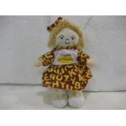 7 Inch Bean Bag Doll Campbells Kids The Alphabet Soup Blonde Little Girl