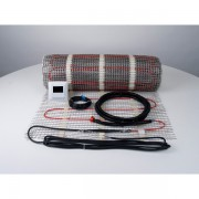 Covor incalzire electrica in pardoseala 1 m2, 150 W, cu termostat digital K12