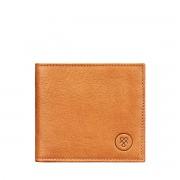 Maxwell-Scott Herren Leder Geldbeutel in Camel - Weiches Leder - Brieftasche, Portemonnaie, Geldbörse, Kreditkartenetui