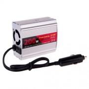 SUVPR DY-8103 200W DC 12V to AC 220V Car Power Inverter with 500mA USB Port & Universal Power Socket