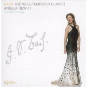 Unknown Johann Sebastian Bach - The Well-Tempered Clavier - Angela Hewitt - CD Box