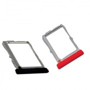 Sim Card Slot Sim Tray Holder Replacement Part for LG Nexus -5 (RED)