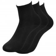 Trendhim Pack de 3 paires de chaussettes noires - Taille 40-45