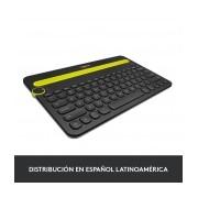 Teclado Logitech K480 Multiplataforma, Inalámbrico, Bluetooth, Negro (Inglés)