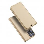Mobiltillbehör Dux Ducis Skin Pro Läderfodral iPhone 12 Pro Max Guld