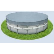 Intex csővázas medence takaró fólia 549cm átmérőre 28041