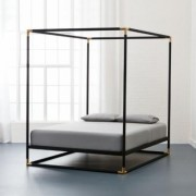 Frame Canopy Queen Bed by CB2