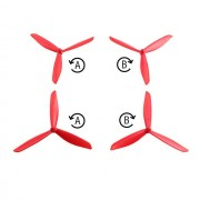 4Pcs Updated Self-propelled Triangle 3-blade Propeller Props for MJX B2C B2W RC Drone