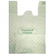 Pungi Biodegradabile Albe, Model Imprimat 30x9x60 cm, 500 Buc/Bax - Sacose si Pungi Ecologice