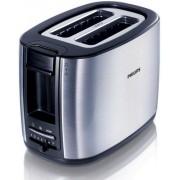 Prajitor de paine Philips HD2628/20, 950 W, 2 felii (Inox)