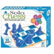JGG Jain Gift Gallery Solo Chess for Kids to Fun /
