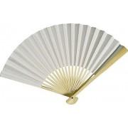 White Paper Hand Fan