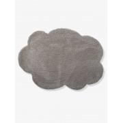 VERTBAUDET Tapete nuvem grande cinzento medio liso