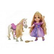 Papusa JAKKS Printesa Disney Rapunzel & Maximus