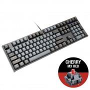 KBD, Ducky One 2 Skyline, Gaming, Механична, MX Cherry Red, USB, Black (DKON1808-RUSPDZHBS)