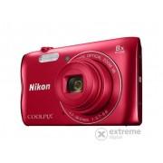 Nikon Coolpix A300 fotoaparat, crvena