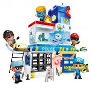PinyPon Action Toy Police Station