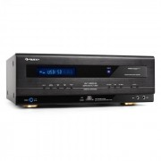 Auna HiFi Receiver USB SD MP3 Surround Amplificator 390W RMS (AV1-4800-B)