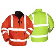Winterwarnjacke, orange, Gr. XL