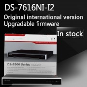 In stock Free shipping DS-7616NI-I2 English version 16ch NVR with 2SATA Up to 12 Megapixels resolution recording H.265
