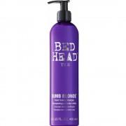 TIGI Bed Head Dumb Blonde sampon tonifiant cu violete pentru par blond