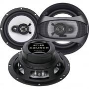 3-sustavski koaksialni zvučnici za ugradnju 180 W Crunch GTI-62