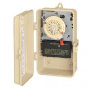 Intermatic T101R3 Interruptor de temporizador con carcasa de metal, 120 V SPST