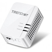 TRENDnet Powerline 1300 AV2 Adapter, IEEE 1905.1 & IEEE 1901, Gigabit Port, Range Up to 300m (984 ft.), TPL-422E
