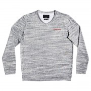 Quiksilver Sweat Quiksilver Hall Aflame gris anthracite