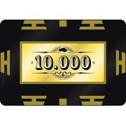 Nagy értékű póker zseton lap 10000