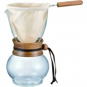 Hario Drip Pot Woodneck kaffebryggare 480 ml