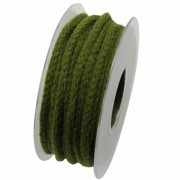 Zsinór textil 6mmx10m zöld