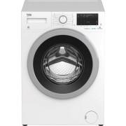 Masina de spalat rufe Beko EWTV8836XSD, 8 kg, 1600 rpm, 15 programe, SteamCure™, Display, HomeWhiz, Motor ProSmart ™ Inverter, Clasa A+++-10%, Alb