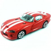 Bburago - 1/43 Dodge Viper GTS (Red)